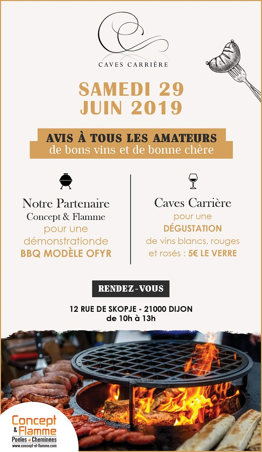 soiree concept cave carriere